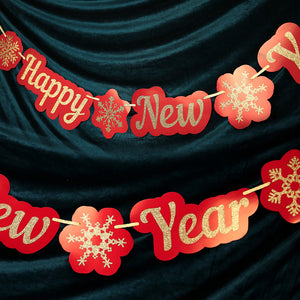 'Happy New Year' Party Banner