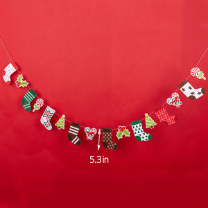 iLikePar Christmas Stockings Party Banner