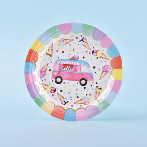 Ice Cream Party Tableware Set