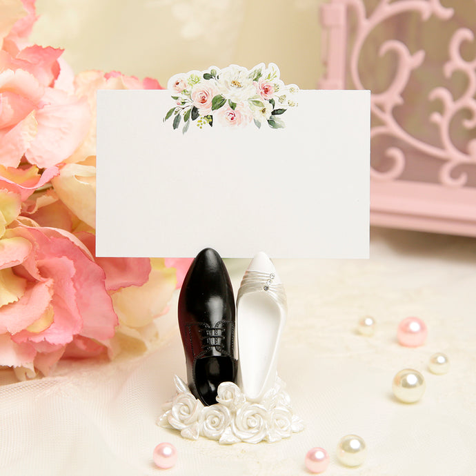 Wedding Shoes Place Card Holders