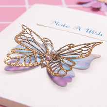 Load image into Gallery viewer, 3D Butterfly Birthday Invitation Card