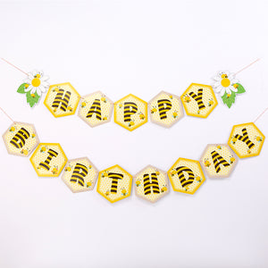 iLikePar Bee Happy Birthday Party Banner