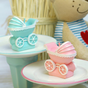 Coming Soon  Baby Pram Candle