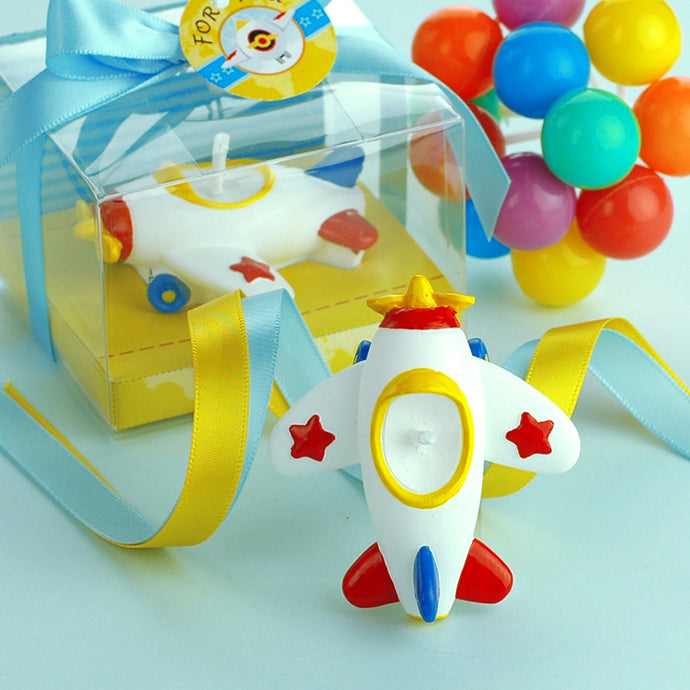 Toy Airplane Candle