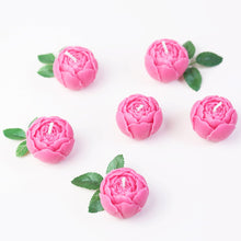 Load image into Gallery viewer, Pink Peony Candle Set