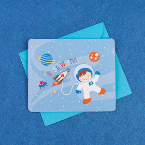 Astronaut Best Wishes Cards