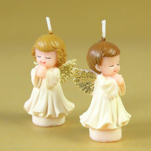 Load image into Gallery viewer, Pray Angel Birthday Candles