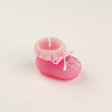 Load image into Gallery viewer, Coming Soon iLikePar  Baby shoe Birthday Candles Baby Shower