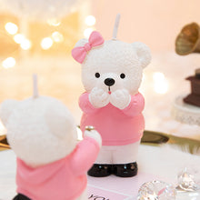 Load image into Gallery viewer, Teddy Bear Proposal Candles