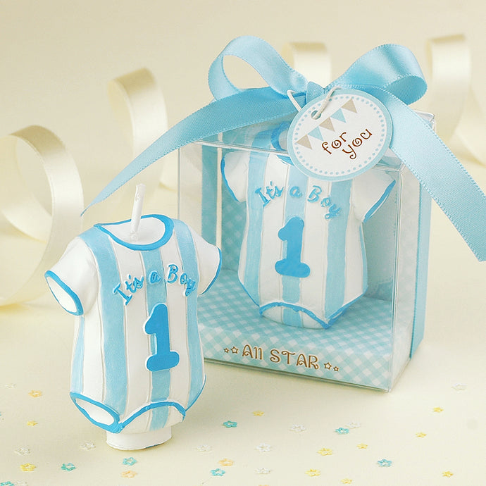 Coming Soon  'It's a Boy' Bodysuit Candle