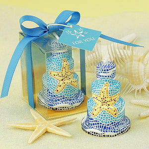 Coming Soon Starfish Birthday Candles Cake Topper Candle for Party Supplies and Wedding Favor