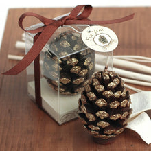 Load image into Gallery viewer, Coming Soon  Sparkling Pine Cone Candle