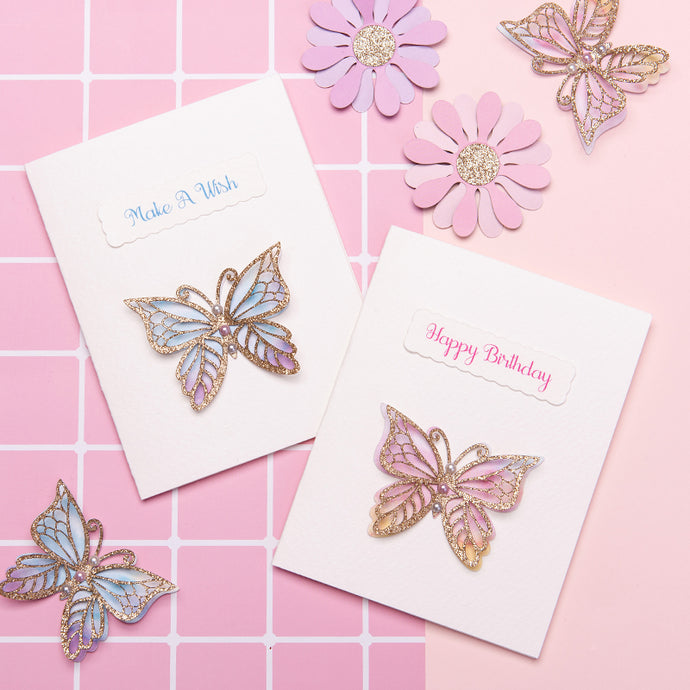 iLikePar 3D Butterfly Birthday Invitation Card
