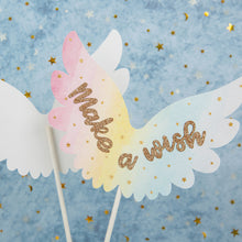 Load image into Gallery viewer, iLikePar Feather Wings Cake topper