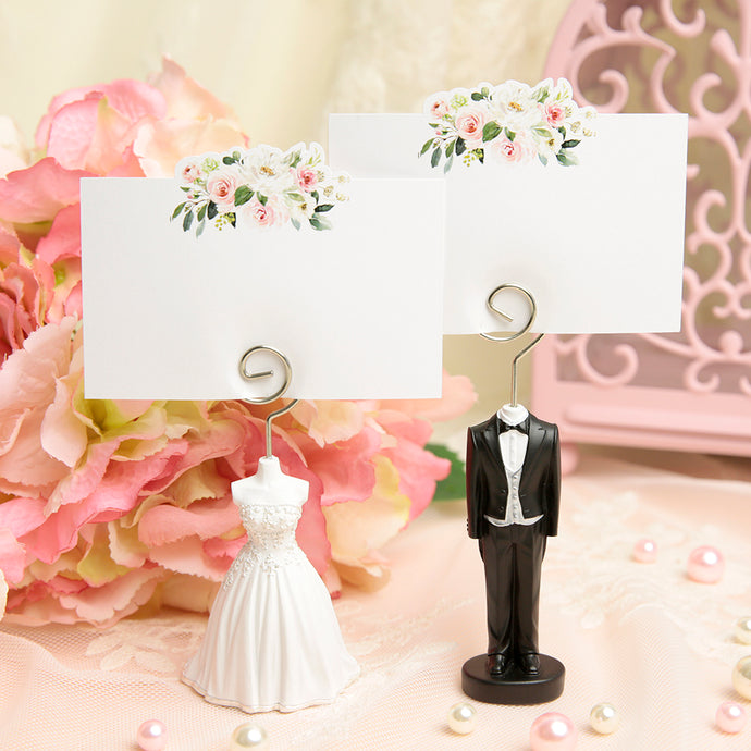 iLikePar Bride & Groom Place Card Holder
