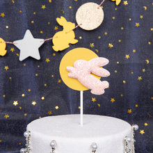 Load image into Gallery viewer, Moon Rabbit Cake Topper