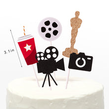 Load image into Gallery viewer, Star Theme Cake Toppers