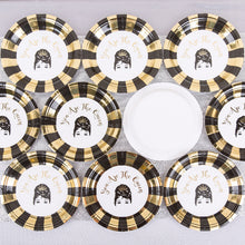 Load image into Gallery viewer, Paper plate set of 10(Queen)