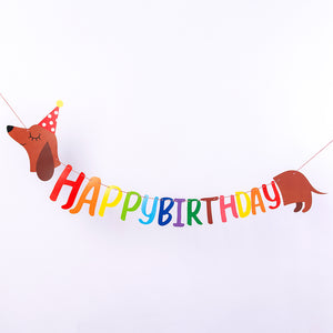 iLikePar Dachshund Party Banner