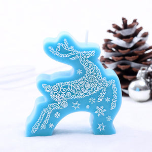 Coming Soon  Christmas Candles Elk Cake Topper Candle for Party Supplies