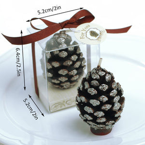 Coming Soon  Sparkling Pine Cone Candle