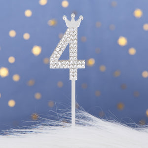 Number 0~9 Cake Toppers