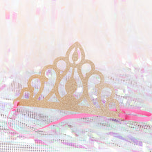 Load image into Gallery viewer, Golden Birthday Crown Party hat