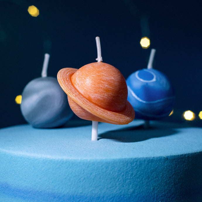 iLikePar  Planet Candle for Birthday Party