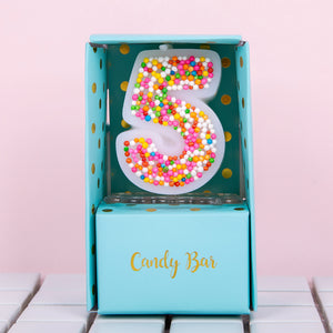 Number 0-9 Birthday Candles