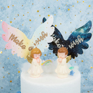 Feather Wings Cake topper