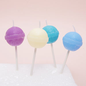 Colorful Lollipop Candles