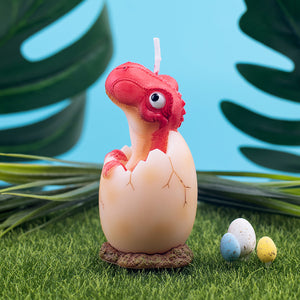 ILIKEPAR Dinosaur Baby Candle for Baby Shower Birthday Easter Party Children
