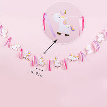 Load image into Gallery viewer, iLikePar Baby Unicorn Party Banner