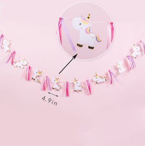 iLikePar Baby Unicorn Party Banner
