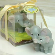 Load image into Gallery viewer, Mom & Baby Elephant Candle