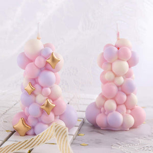 Coming Soon  Decorative Balloon Stack Candle