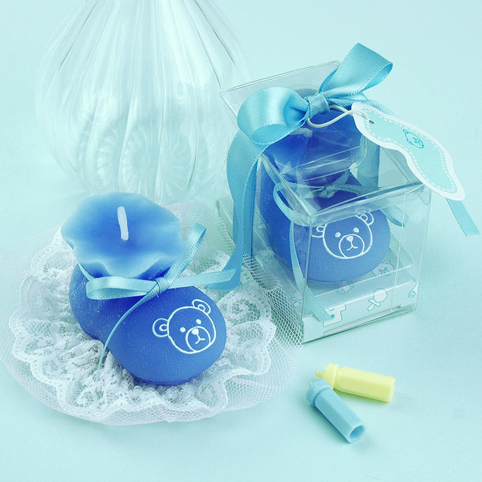 Coming Soon iLikePar  Baby shoe Birthday Candles Baby Shower