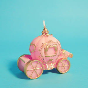 Pumpkin Carriage Candle