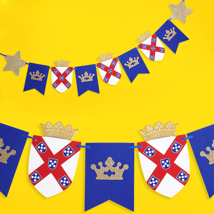 Royal Prince Pull Flags