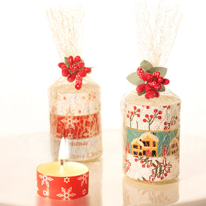 Coming Soon iLikePar  3-Pack Mixed Fruit Scented Candles