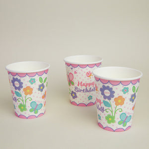 Floral Birthday Party Tableware