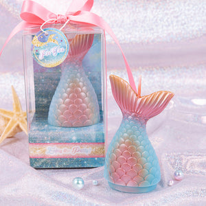 Metallic Mermaid Tail Candle