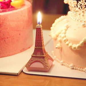 iLikePar Eiffel Tower Candle