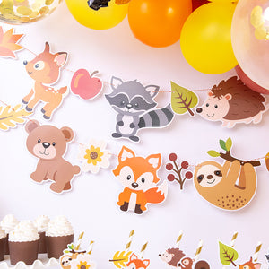 iLikePar Forest Animal Party Banner