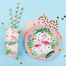 Load image into Gallery viewer, iLikePar Flamingo Party Tableware Set