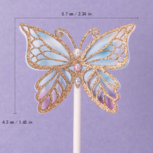 Load image into Gallery viewer, iLikePar Butterfly & Flower Theme Cake Topper