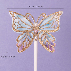 iLikePar Butterfly & Flower Theme Cake Topper