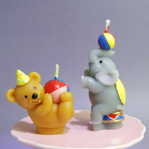 iLikePar Circus Animal Candle