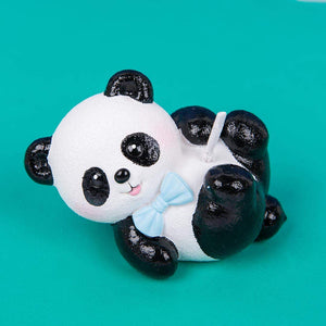 Baby Panda Family Candle