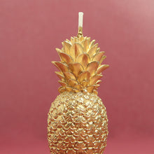 Load image into Gallery viewer, Golden Pineapple Candle